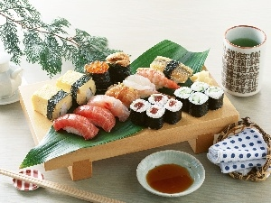 excellent, different, Types, Shushi