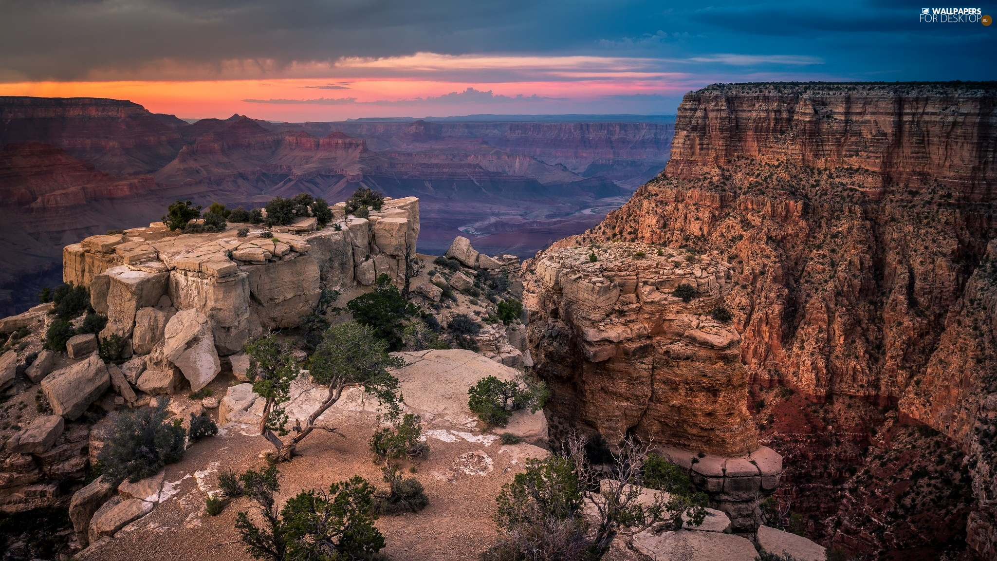Grand Canyon, Grand Canyon, State of Arizona, The United States, Grand Canyon National Park, rocks