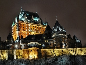 Quebec, Canada, Castle, Chateau Frontenac, Hotel hall