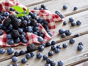 composition, blueberries, blackberries