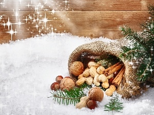 nuts, Tastes, Fragrances, Christmas