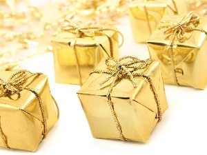 Golden, gifts