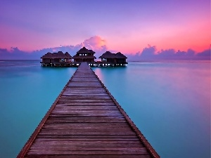 pier, Maldives, boutique hotels, Tropical, Great Sunsets, sea