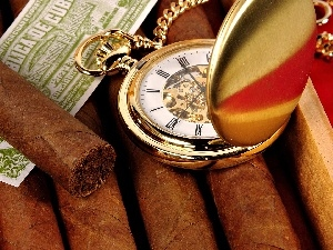 label, Cigars, Watch