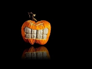 pumpkin, Teeth